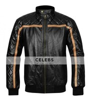 Battlefield Hardline Nick Mendoza Black Quilted Jacket
